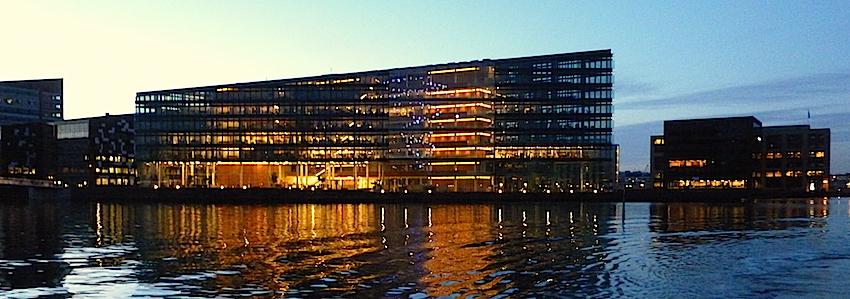 immeubles bord de l'eau